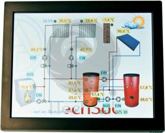 Ta Can Touch Monitor Pentru Controller Solar Termic (automatizare  Regulator) Uvr1611