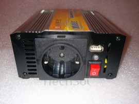 Invertor unda sinus modificata 300W 12-220V ITechSol®