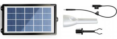 Kit de iluminat solar multifuncțional JouLite 150 KIT1 Albastru