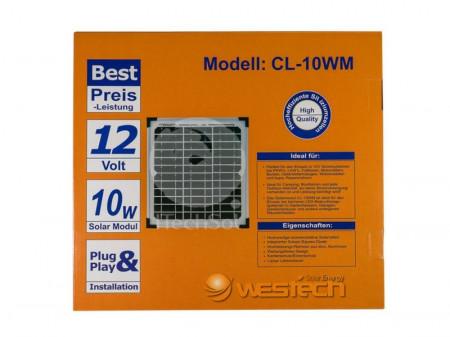 Panou solar fotovoltaic monocristalin 10W
