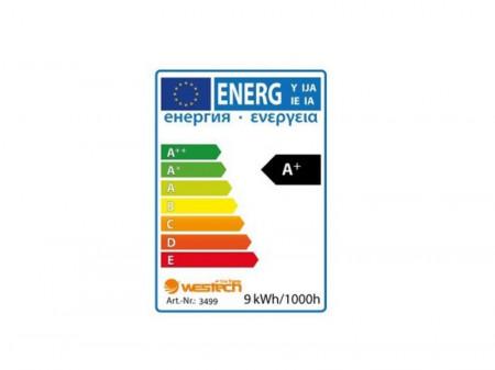 Bec LED 9W E27 12V cu lumină caldă