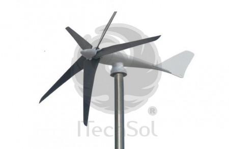 Generator eolian (turbină) Airpower 1500W 48V (hibrid) cu regulator de încărcare