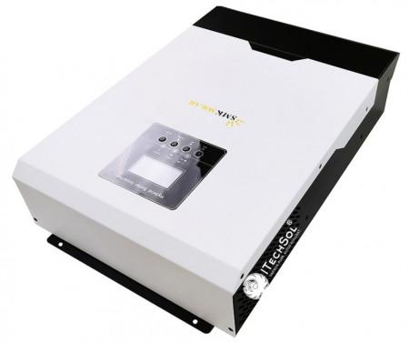 Încărcător/Invertor hibrid 5kW/48V cu undă sinusoidală pură cu controler MPPT 80A