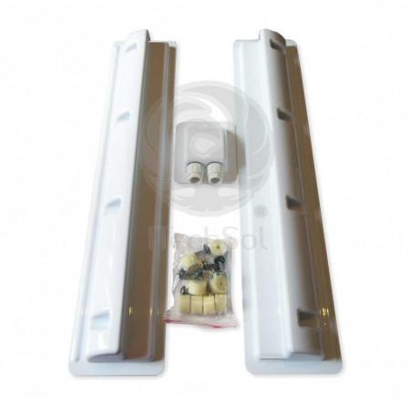 Suport montaj (set 3 piese) pentru instalare panou solar fotovoltaic pe rulota