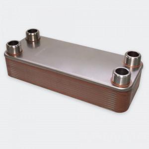 Schimbător de căldură INOX cu plăci - 115KW