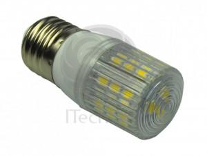 Bec LED 4W 12V 24V E27 cu lumina calda