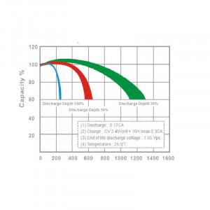 Cilci descarcare acumulator AGM MPL