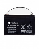 Baterie (acumulator) GEL SolarV 100Ah, 12V, C10 deep cycle