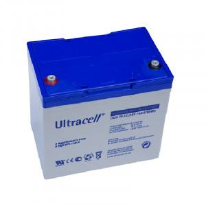 Baterie (acumulator) GEL Ultracell UCG75-12, 75Ah, 12V, deep cycle