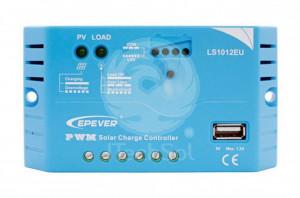 EP Solar LS1024EU 12V 10A controller solar de incarcare PWM, cu USB
