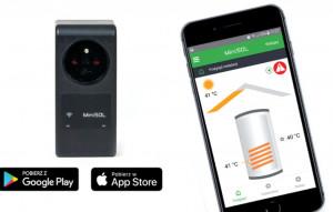 MiniSOL - controller solar termic (automatizare, regulator)