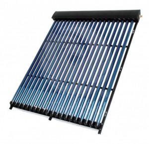 Panou (colector) solar termic cu 18 tuburi vidate, tehnologie heat pipe