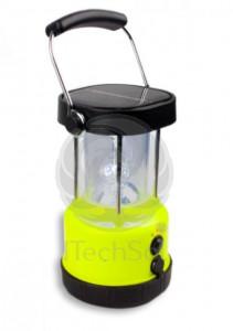Lanterna solara portabila cu LED