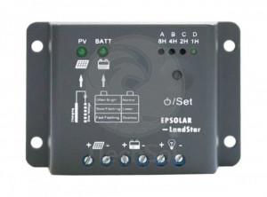 EP Solar LS0512R 12V 5A controller solar de incarcare PWM, cu functie crepusculara si temporizator pentru iluminat nocturn