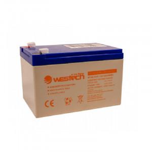 Acumulator AGM Westech WT-SA12-12, 12Ah, 12V