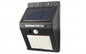 Lampa solara cu led 20XSMD senzor de miscare si amurg cu cablu 2,5m