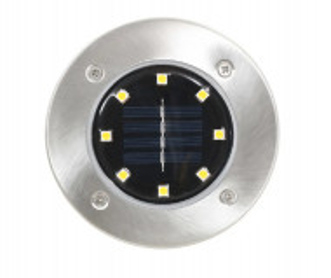 Lampa solara led 8XSMD gradina-set 4 buc.