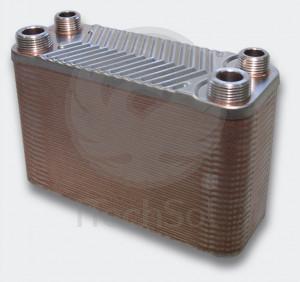 Schimbător de căldură cu plăci - 130KW