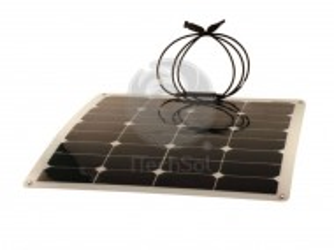 Panou solar fotovoltaic semiflexibil, monocristalin 50W