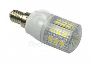 Bec LED 4,4 W 12V 24V E14 cu lumina calda