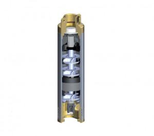 """Pompă submersibilă 4"""" (tablou electric de comanda inclus) 0,75->2 CP"""