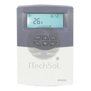 Controller SR609C pentru panouri solare presurizate compacte
