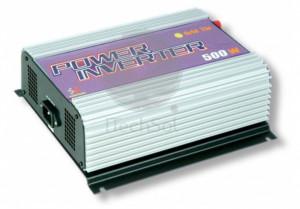 Invertor cu MPPT integrat, unda sinus pur, 500W auto 22-60v - iesire 230V