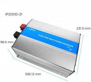 Invertor off-grid unda sinusoidala pura inteligent IPower 2000W-24V