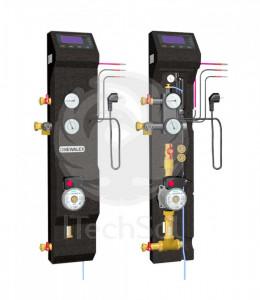Statie solara - unitate de control combo ZPS 28-01 (automatizare performanta si grup de pompare)