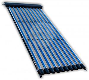 Panou (colector) solar cu tuburi vidate heat pipe ITS 10