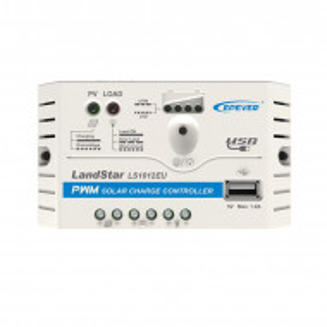 EP Solar LS1012EU 12V 10A controller solar de încărcare PWM, cu USB