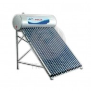 Kit solar presurizat compact, cu boiler inox 100 litri si 10 tuburi vidate