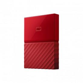 """HDD extern WD, 4TB, My Passport, 2,5"""" USB 3.0, rosu"""