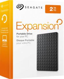 "HDD extern Seagate, 2TB, Expansion, 2.5"" USB3.0, negru"