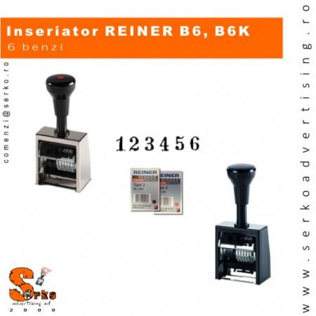 B6K Numberer, 6 cifre