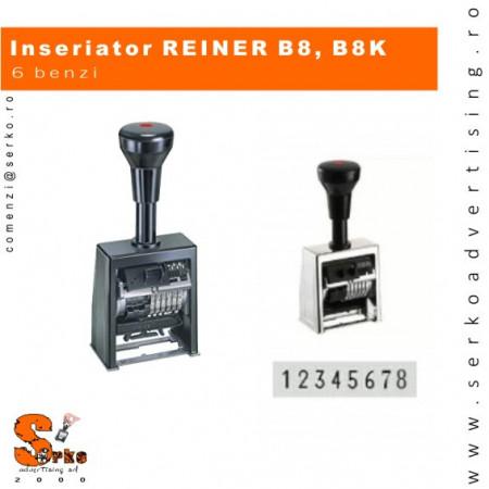 B6K Numberer, 8 cifre