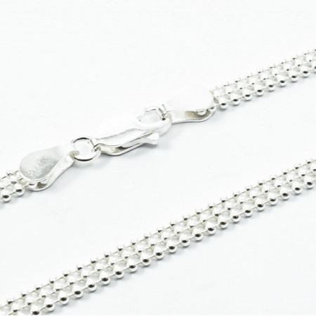 Lant Argint 925 Bead Laser 3R, 45 cm lungime
