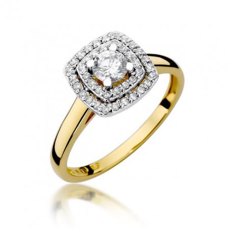Inel Aur 14k cu Diamant 0.50 ct