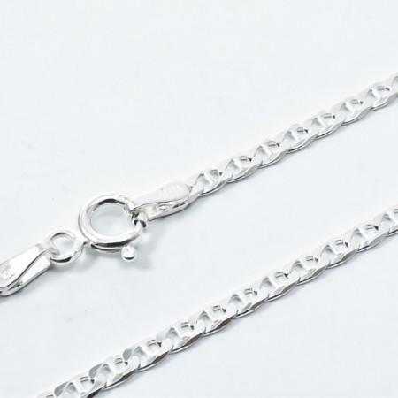 Lant Argint 925 Flat Mar.Exflat, 45 cm lungime
