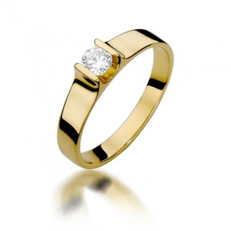 Inel Aur 14k cu Diamant 0.23 ct
