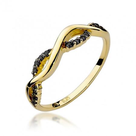 Inel Aur 14k cu Diamant 0.07 ct