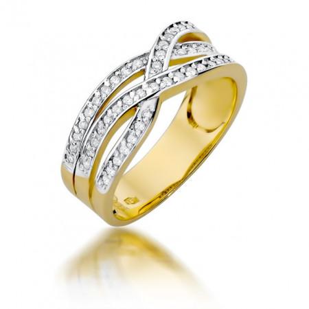 Inel Aur 14K cu Diamant 0,27 ct