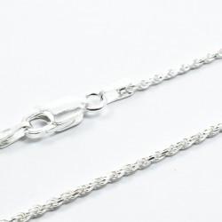 Lant Argint 925 Rope, 45cm lungime