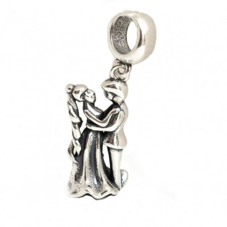 Talisman Argint 925 rodiat Cuplu