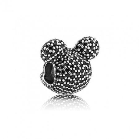 Talisman Argint 925 rodiat Mickey