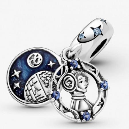 Talisman Argint 925 rodiat Don't mess with this Princess- Simulated Diamond