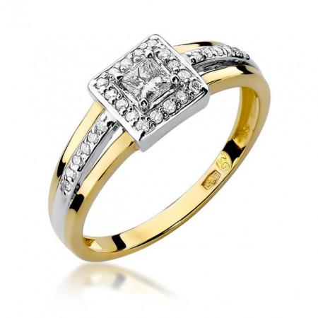 Inel Aur 14K cu Diamant 0.29 ct