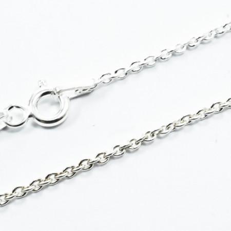 Lant Argint 925 Rolo Oval, 45 cm lungime