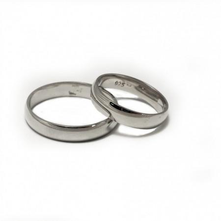 Verighete din Argint 925 rodiat AKB004