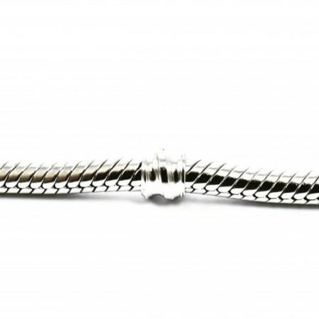 Bratara Argint 925 rodiat, model Clasic, pentru Talismane